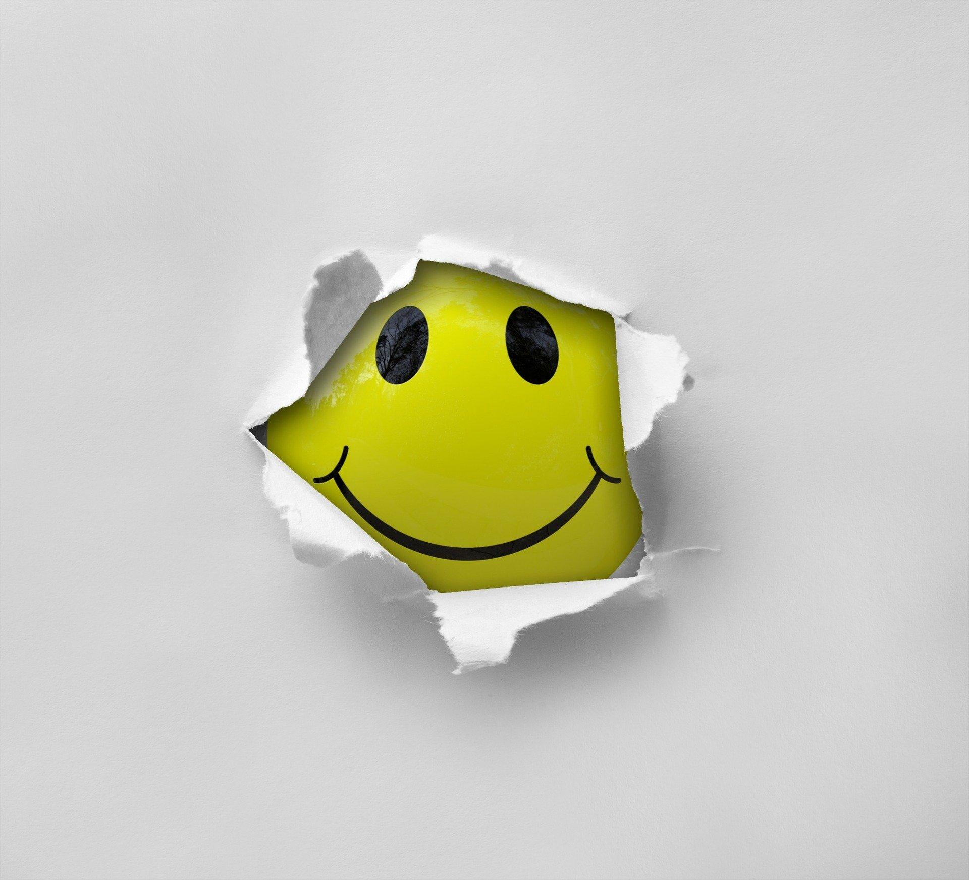 Ein Lächelnder Smiley