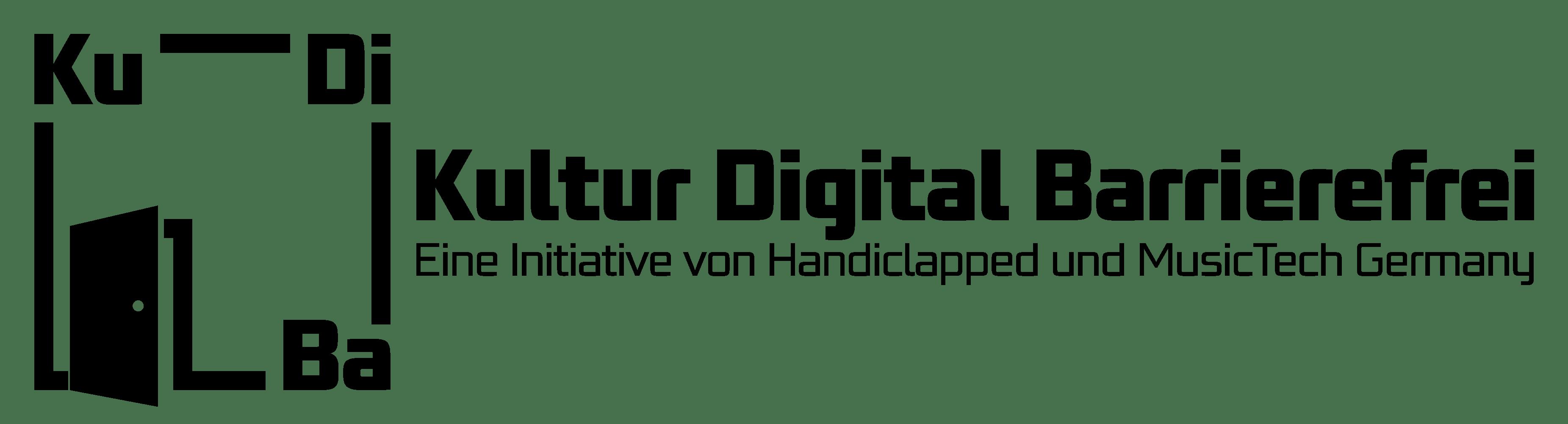 Logo KuDiBa - Kultur Digital Barrierefrei